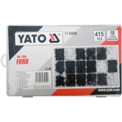 Yato Σετ Πλαστικά Κλιπς για Ford 415τμχ